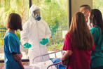Contagious Disease Training at Hospital