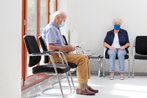 Seniors Waiting in a Doctor's Office